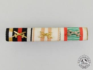 A First War Austrian War Service Medal Ribbon Bar by Friedrich Sedlatzek