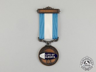 An Inaugural Year Life of Alberta Award in 1967 to Captain Jack Boddington; Founder of the Military Collectors Club of Canada