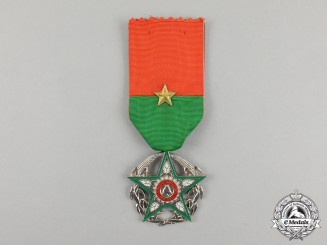 A Burkina Faso Order of National Merit, Knight