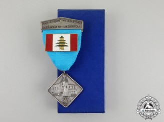 A Norwegian United Nations Battalion in Lebanon (NORBATT) Participation Medal