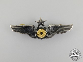 A Royal Thai Army Air Force Senior Pilot Badge