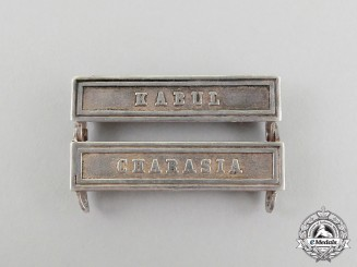 Two British Conjoined Clasps for the Afghanistan Medal 1878-1880