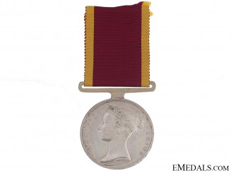 China War Medal 1842 - H.M.S. Modeste