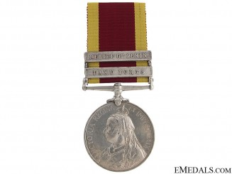 China War Medal 1900 - HMS Endymion