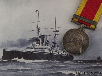 China War Medal 1900 - H.M.S. Centurion