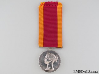 China War Medal 1841-1842; 18th Regiment of Foot