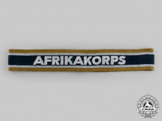 Germany, Third Reich. An Unissued Deutsches Afrika Korps (German Africa Corps) Campaign Cuff Title