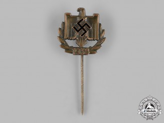 Germany, DRL. A 1938 DRL Merit Badge in Bronze