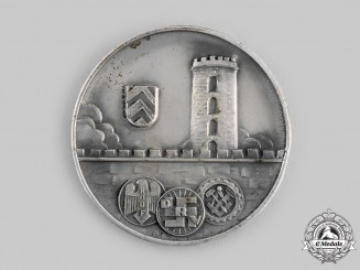 Germany, Third Reich. A Table Medal for a Convention of the Association of Tradesmen and Specialized Trade, c. 1936