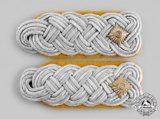 Germany, Luftwaffe. A Pair of Flight Oberstleutnant Officer Shoulder Boards