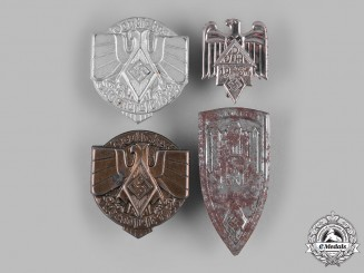 Germany, HJ. A Group of HJ Event Badges