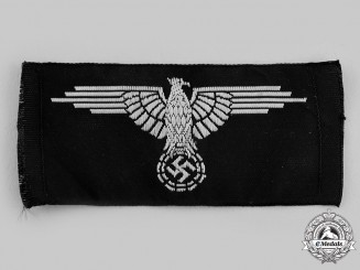 Germany, SS. A Waffen-SS EM/NCO's Overseas Cap Eagle
