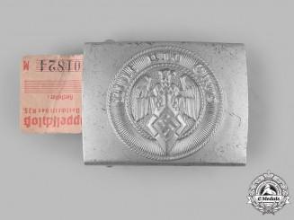 Germany, HJ. An EM/NCO's Belt Buckle, by Christian Theodor Dicke