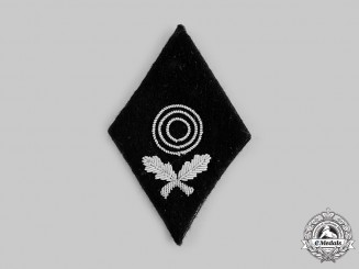 Germany, Waffen-SS. A I Class Marksmanship Diamond Badge; RZM Tagged