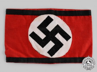 Germany, SS. A Member's Armband, Summer Version