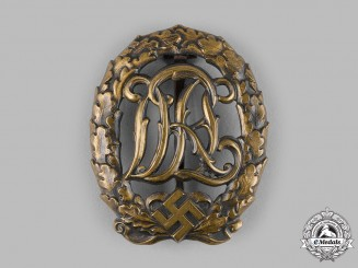 Germany, DRL. A DRL Sports Badge, by Ferdinand Wagner