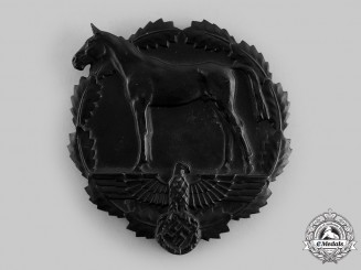 Germany, SA. A Plaque for Services to the National Socialist Equestrian Youth