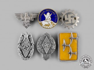 Germany, Third Reich. A Lot of Third Reich Badges