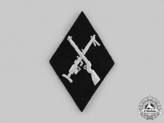 Germany, SS. An SS-Armourer NCO Sleeve Diamond Insignia