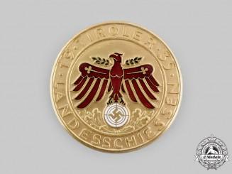 Germany, Third Reich. A 1939 Tirol Landesschiessen Shooting Award Medal