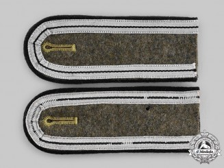 Germany, Third Reich. A Pair of RAD Truppfuhrer's Shoulder Straps