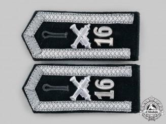 Germany, Third Reich. A Pair of Ordnance Unteroffizier Shoulder Boards