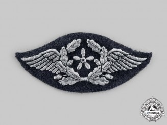 Germany, Luftwaffe. An Officer's Flight Technical Personnel Trade Badge, c. 1940