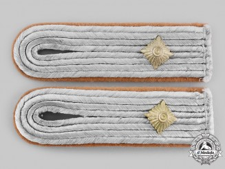 Germany, Heer. A Pair of Construction Oberleutnant Shoulder Boards