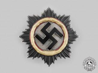 Germany, Wehrmacht. A German Cross in Gold, by Deschler, Heavy Version