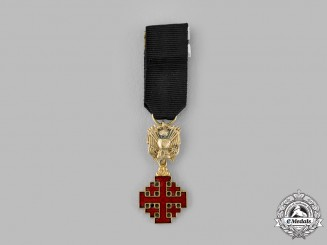 Vatican. Equestrian An Order of the Holy Sepulchre of Jerusalem, Miniature