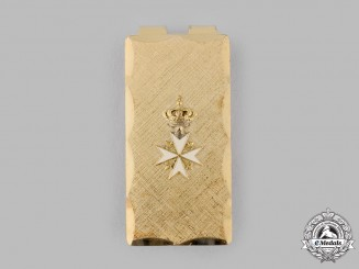 France, V Republic. An Order of St. John Money Clip