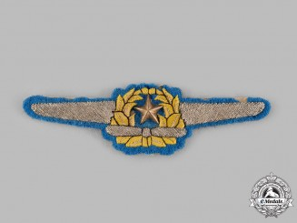 Japan, Empire. A Naval Pilot Badge, c.1941