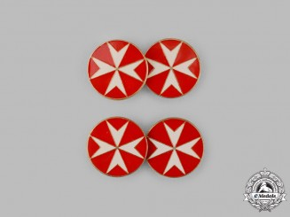 International. A Sovereign Military Hospitaller Order of Saint John of Jerusalem, of Rhodes and of Malta Cufflinks