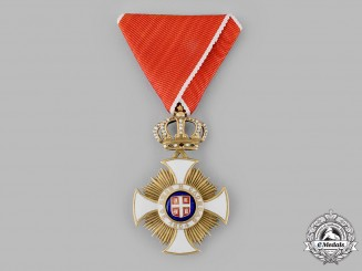 Serbia, Kingdom. An Order of the Star of Karageorge, IV Class Officer, c.1925