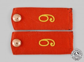 Germany, Imperial. A Set of Heer 9th Infantry Division Shoulder Boards