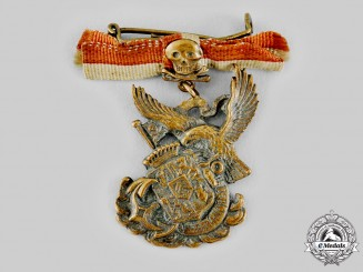 Germany, Imperial. A Navy Patriotic Badge, by Friedrich Linden