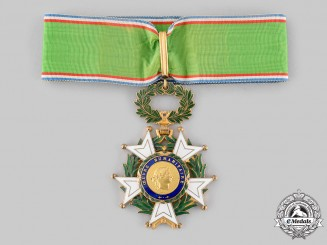 France, V Republic. A Cross of Honour for Humanitarian Works, I Class Commander