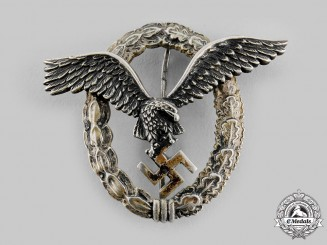 Germany, Luftwaffe. A Pilot's Badge, by F. W. Assmann & Söhne of Lüdenscheid