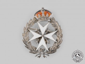 United Kingdom. An Order of St. John Lapel Badge, by H.T. Lamb & Company
