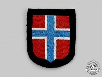 Germany, SS. A Waffen-SS Norwegian Volunteer's Sleeve Shield
