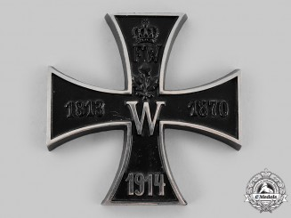 Germany, Imperial. An Iron Cross 1914 Patriotic Table Medal
