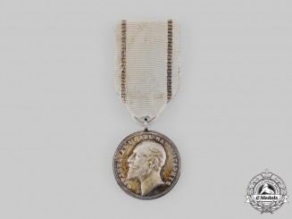 Bulgaria, Kingdom. A Medal for Merit, II Class Silver Grade, c.1910
