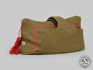 Spain, Francoist Era. An Army Garrison or Isabelino Forage Cap, c. 1943