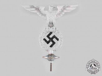 Germany, NSDAP. A First Pattern NSDAP Flag Pole Finial