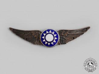 China, Republic. An Air Force Pilot Badge