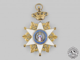 Spain, Kingdom. A Royal Collegiate Corporation of Honorary Chaplains, Grand Cross, c.1920