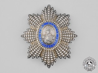 Venezuela, Republic. An Order of Liberator, Grand Cross Star, by A. Fonson, c.1900