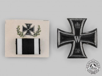 Germany, Imperial. A 1914 Iron Cross I Class with Ribbon Bar
