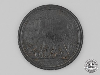 France, Revolutionary Period. A Storming of the Bastille Commemorative Medal 1789