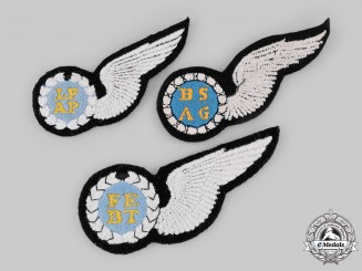 South Africa, Republic. Three South African Air Force Qualification Badges